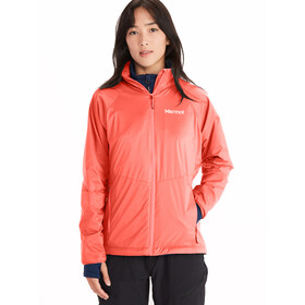 Marmot Ether DriClime 2.0 Hoody Jacket Women, firefly